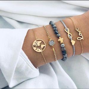 5pc bracelets set